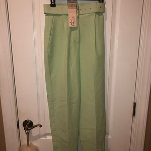 BRAND NEW Oh Polly mint high waisted pants
